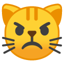Mad Cat emoji
