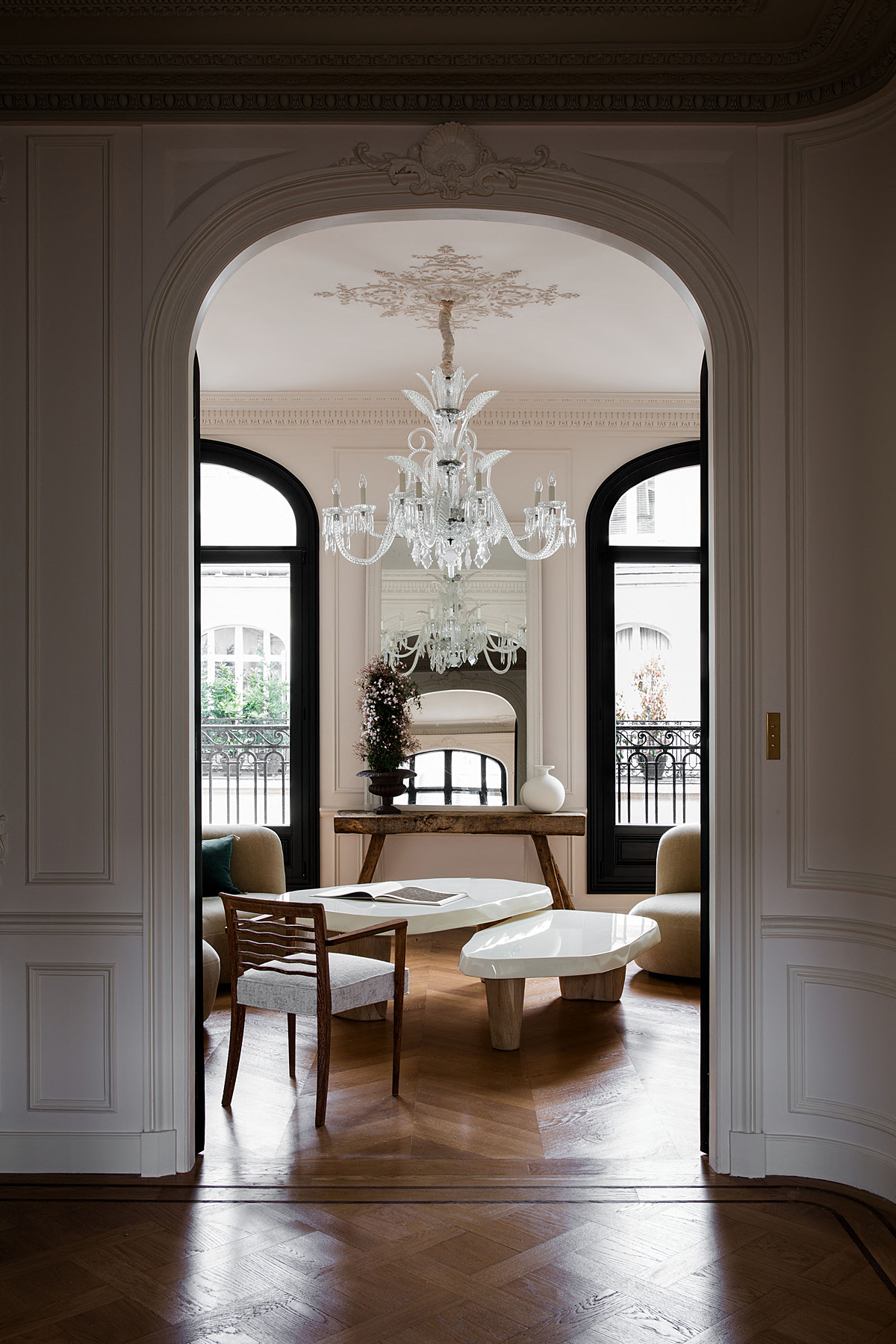 Décor Inspiration: A Paris Apartment by Christina Cole and Co.
