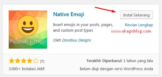 Tools Emoticon Keren Di WordPress
