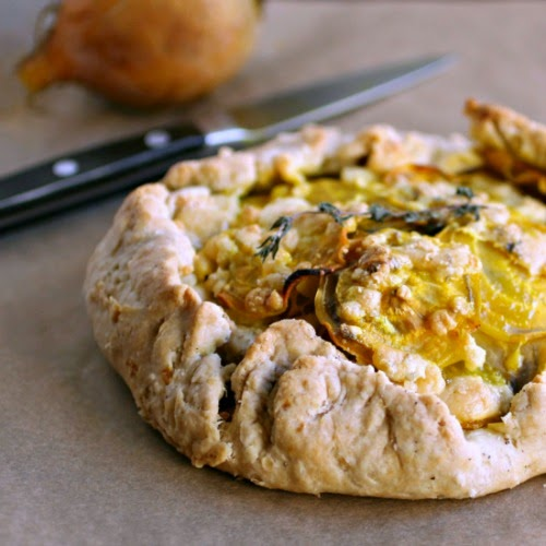 Savory Beet and Gorgonzola Galette