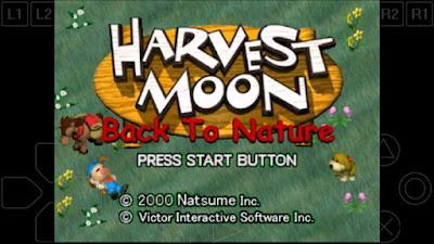 Cara Bermain Harvest Moon Back To Nature di Android