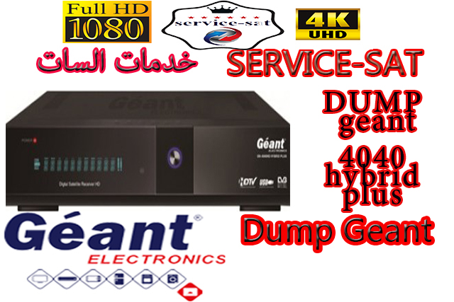 DUMP geant 4040 hybrid plus carte mere sn017ea