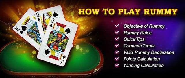 रम्मी कार्ड गेम कैसे खेलें | How To Play Rummy Card Game in Hindi