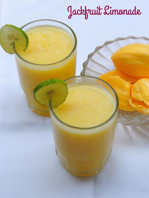 Jackfruit Limonade, Lime & Jackfruit Juice