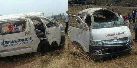 catholic priests accident akwa ibom