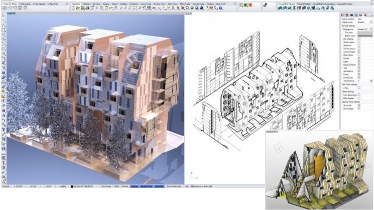 Rhino News, etc.: Rhino in Architecture & V-Ray Next workshops in Madrid