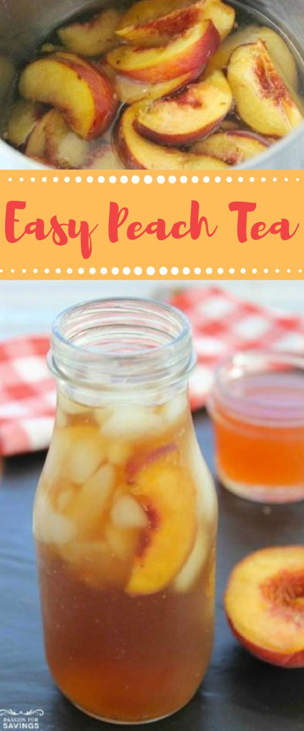 Easy Peach Tea #drink #fresdrink #delicious #party #apple