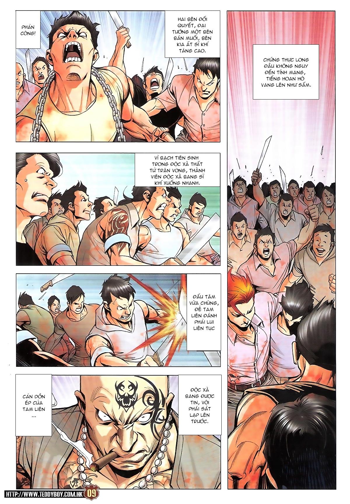 Người Trong Giang Hồ chapter 1834: kim mông không vs kim mông không trang 7