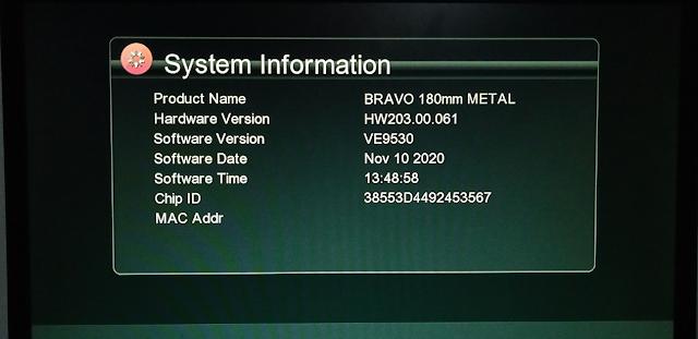 ECHOLINK BRAVO 180MM METAL GX6605S HW203.00.061 NEW SOFTWARE 10 NOVEMBER 2020
