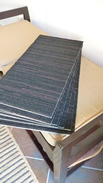 DIY Carpet Stair Treads