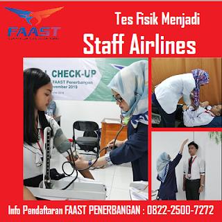 Bentuk Tes Fisik Staff Airlines Sebelum Resmi Bertugas di Bandara