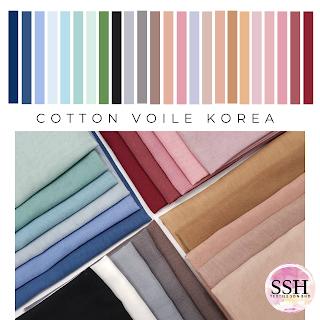 Cotton Voile Korea