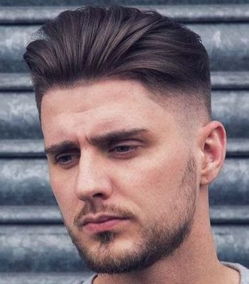 35 Modern Haircut For Men in 2020 - Slicked swept haircut