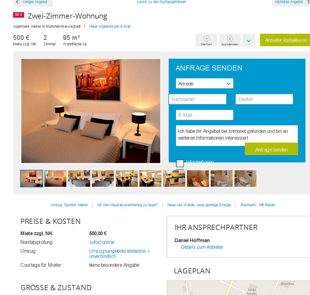 Wohnung Bockenheim