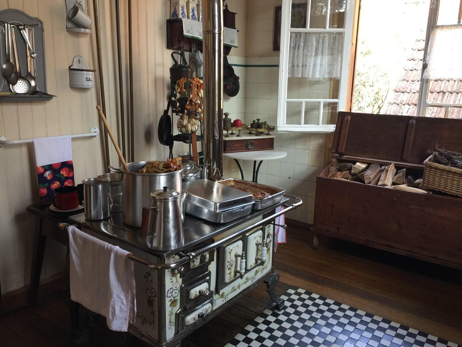 Cozinha do Castelinho do Caracol - Viagem Simplesmente