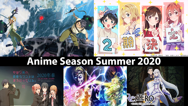 anime season summer 2020 terbaik