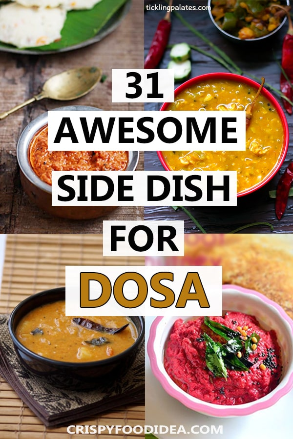 side dishes for dosa