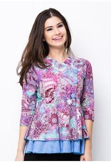 Model Baju Batik Elegan