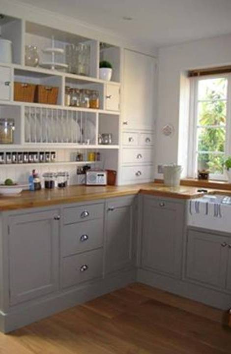 Home Decor: Small and Narrow Kitchens Design Ideas