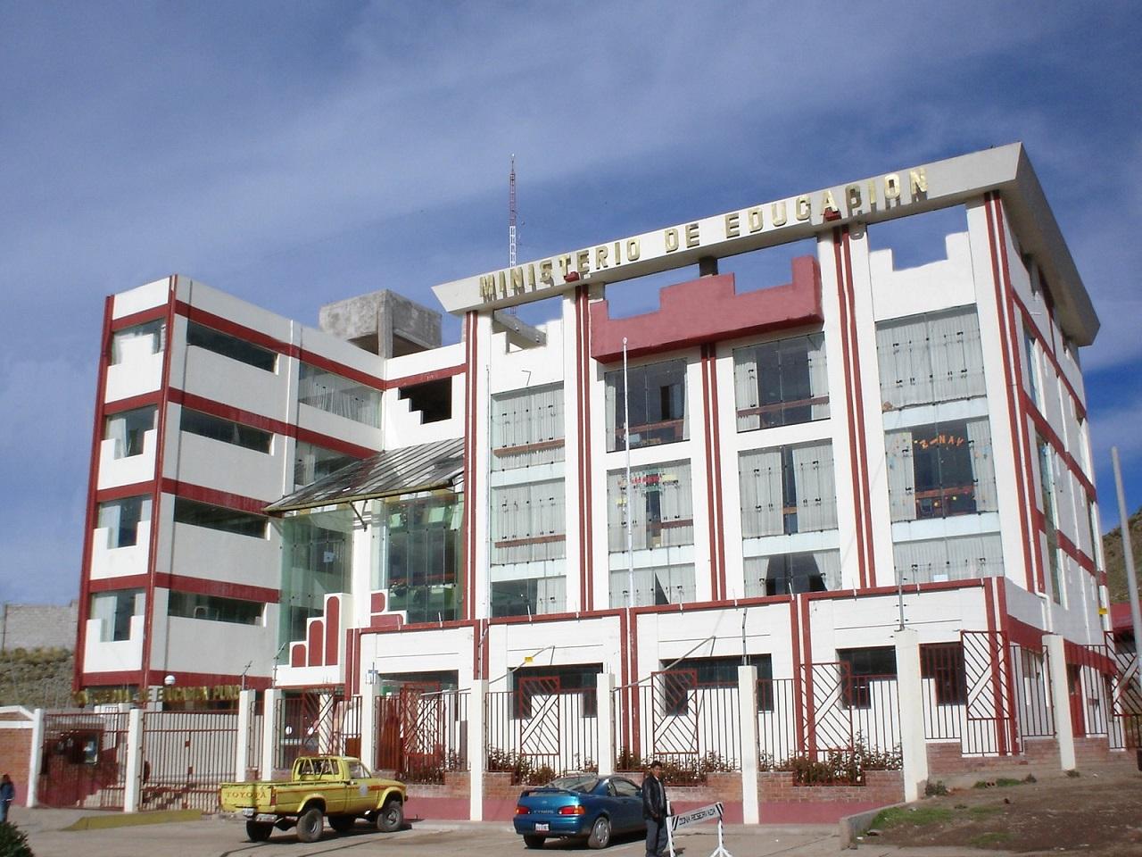 Dirección Regional de Educación Puno
