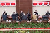 Paripurna DPRD Sulut Terhadap Pertanggungjawaban Gubernur Pelaksanaan APBD TA 2020
