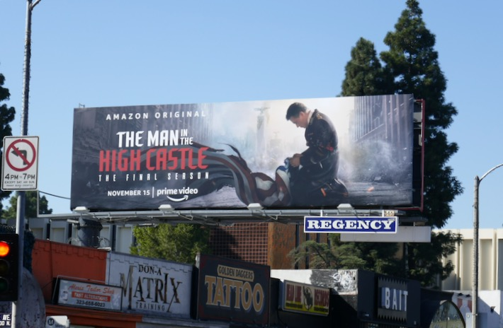 Man in High Castle final season billboard