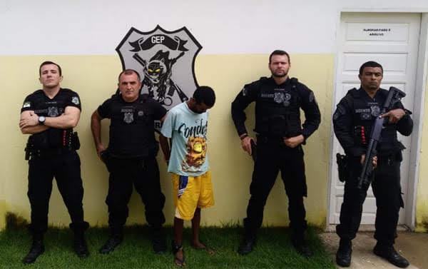 Foragido da Justiça é recapturado em Rafael Fernandes