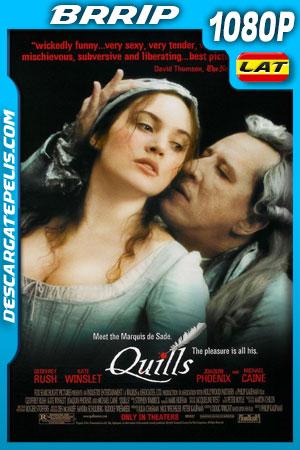 Letras prohibidas, la leyenda del Marqués de Sade (2000) 1080P BRrip Latino – Ingles
