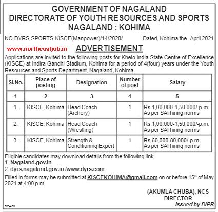 Nagaland-Jobs