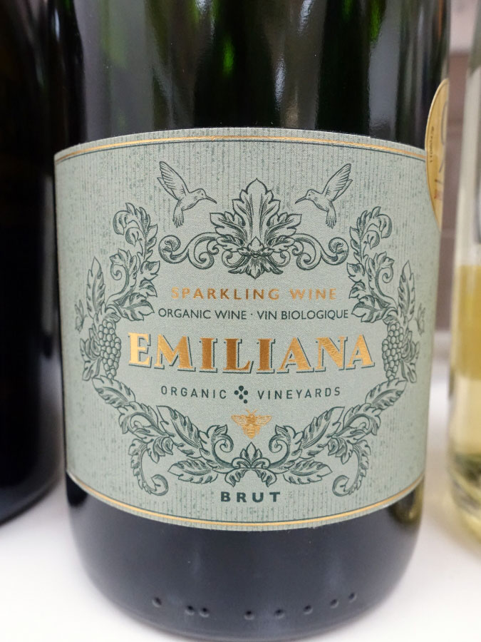 Emiliana Organic Brut Sparkling (88 pts)