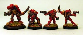 HOF69 Draccian Lord and Warriors
