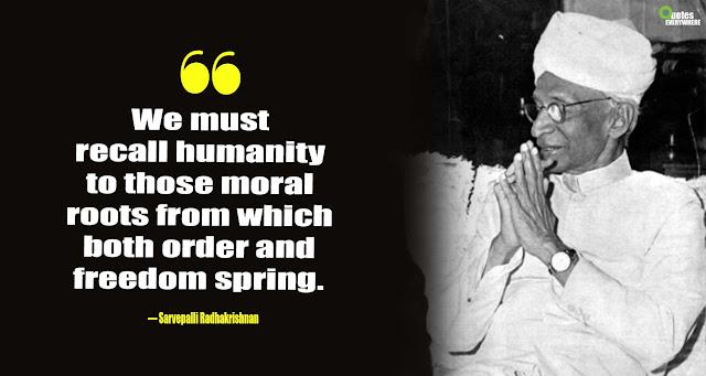 Sarvepalli Radhakrishnan Quotes On Education