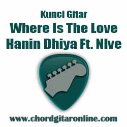 Chord Hanin Dhiya Where Is The Love Feat Nlve
