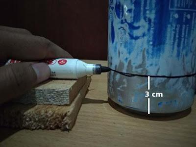 Cara Membuat Kompor Spirtus