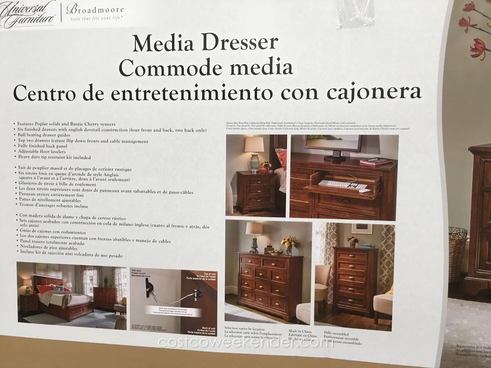 Media Dresser Costco BestDressers 2017