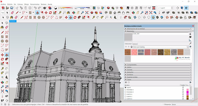 SketchUp Pro designs 3D models of houses