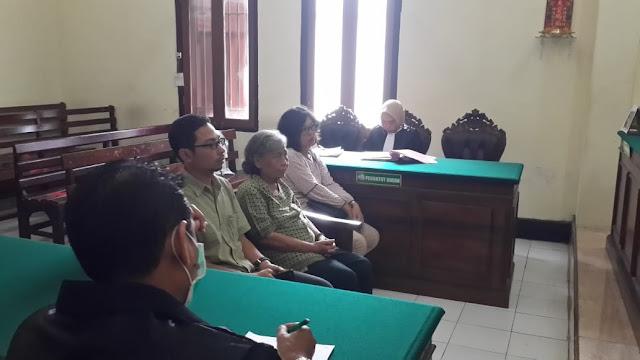 Tiga Terdakwa Kasus Penyerobotan Rumah Wisma Kedung Asem Indah Diputus Onslag