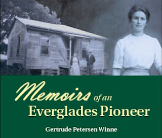 """partial cover of """"Memoirs of an Everglades Pioneer"""""""