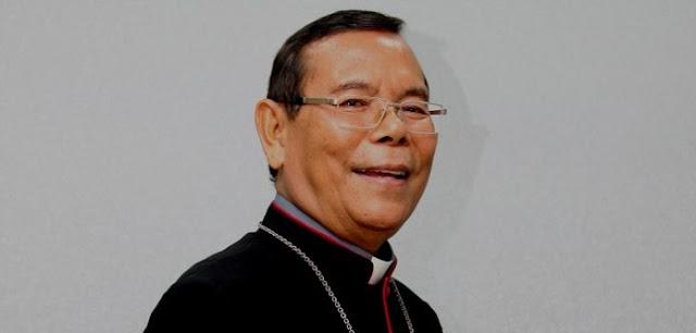 Cepat Sembut Mgr. Martinus Situmorang OFM Cap