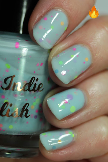 My Indie Polish Rainbow Dash swatch by Streets Ahead Style