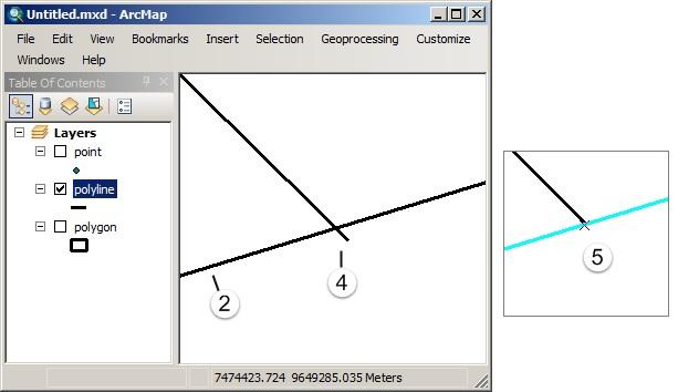 Editing Fitur pada ArcGIS (Tingkat Lanjut) - Trim