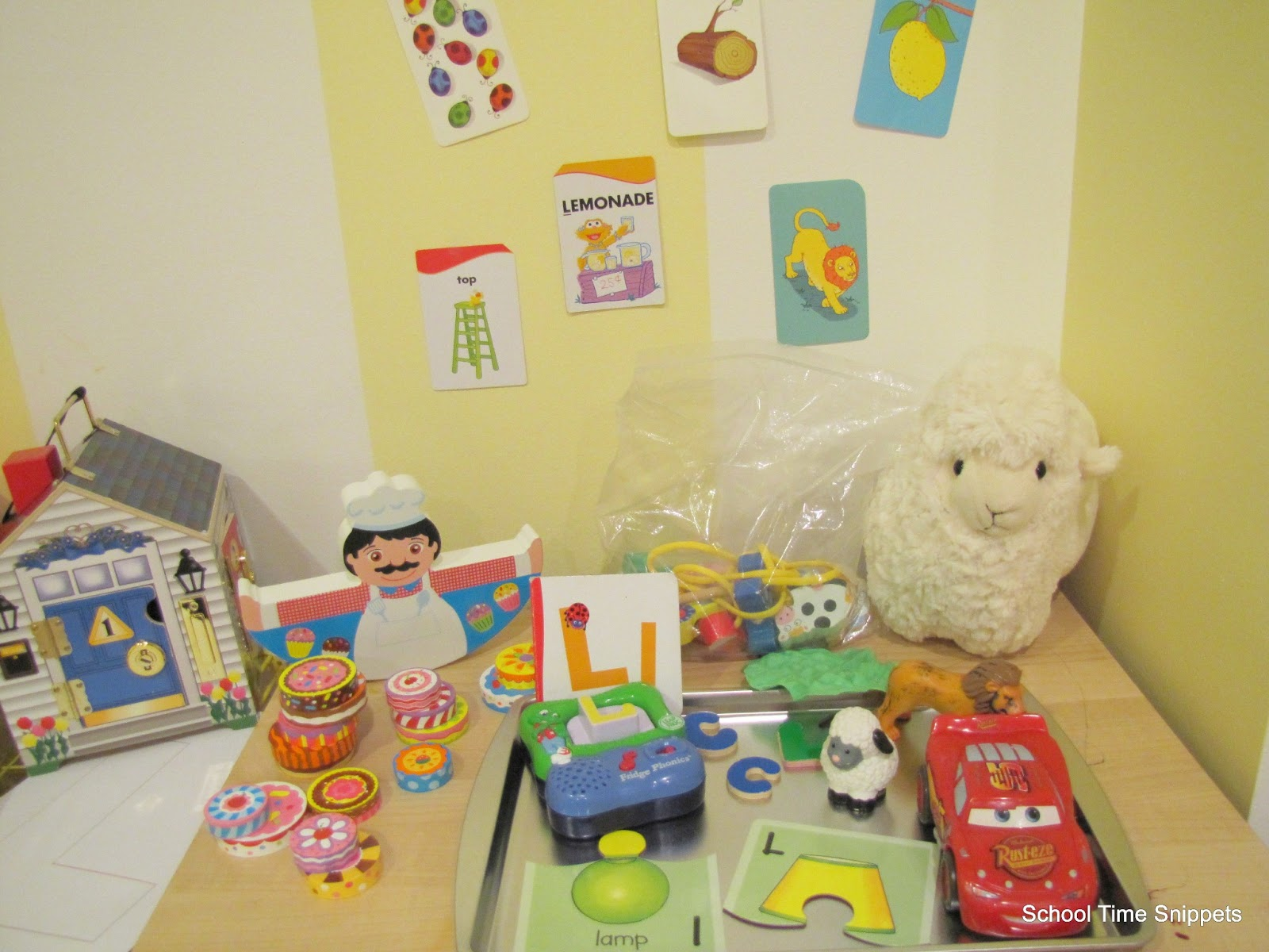 Letter L Toddler Activities