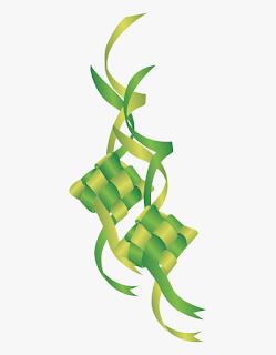 Gambar Ketupat Lebaran Idul Fitri Sebagai Ucapan Selamat Hari Raya Idul Fitri