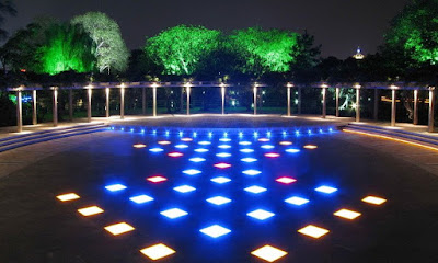 Underground LED lighting For Lanscaping Design
