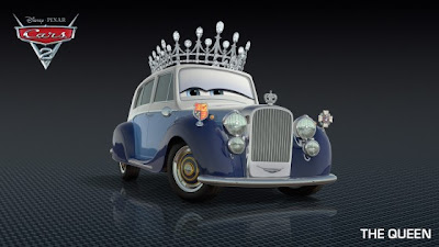 The Queen - Cars 2
