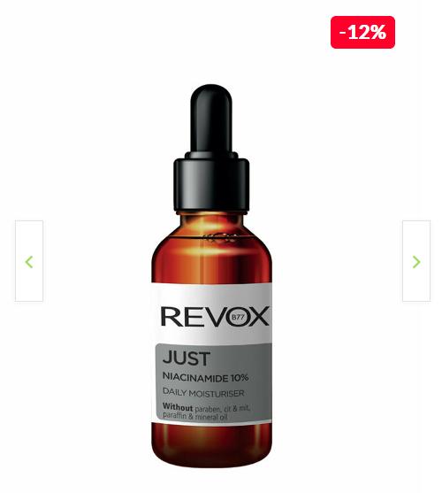 Serum hidratant Revox Just Niacinamid Daily Moisturiser, 30ml