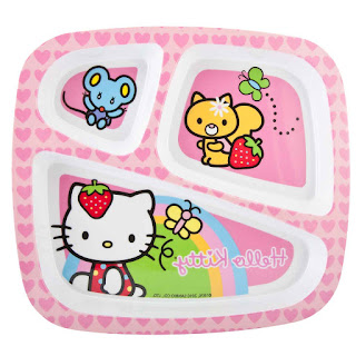 Gambar Piring Hello Kitty 5