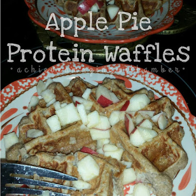 21 day fix, 21 day fix approved, protein, protein waffles, healthy breakfast, fixate protein waffles, 21 day fix apple pie