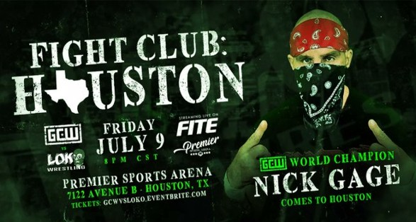 Cobertura: GCW Fight Club Houston 2021 – Absoluto!