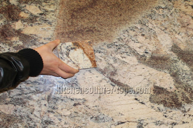 Marble & Granite countertops small sample